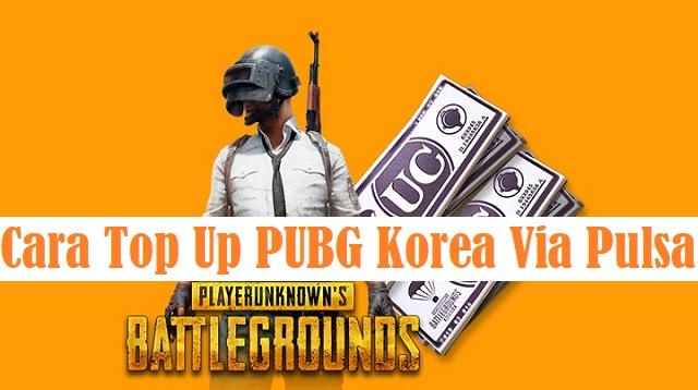 Cara Top Up PUBG Korea Via Pulsa