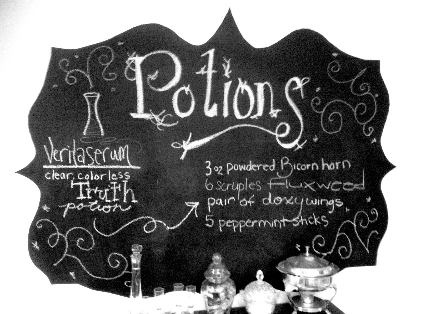 Once Upon A Pie Hogwarts Decorating Potions Lab Amp Great Hall