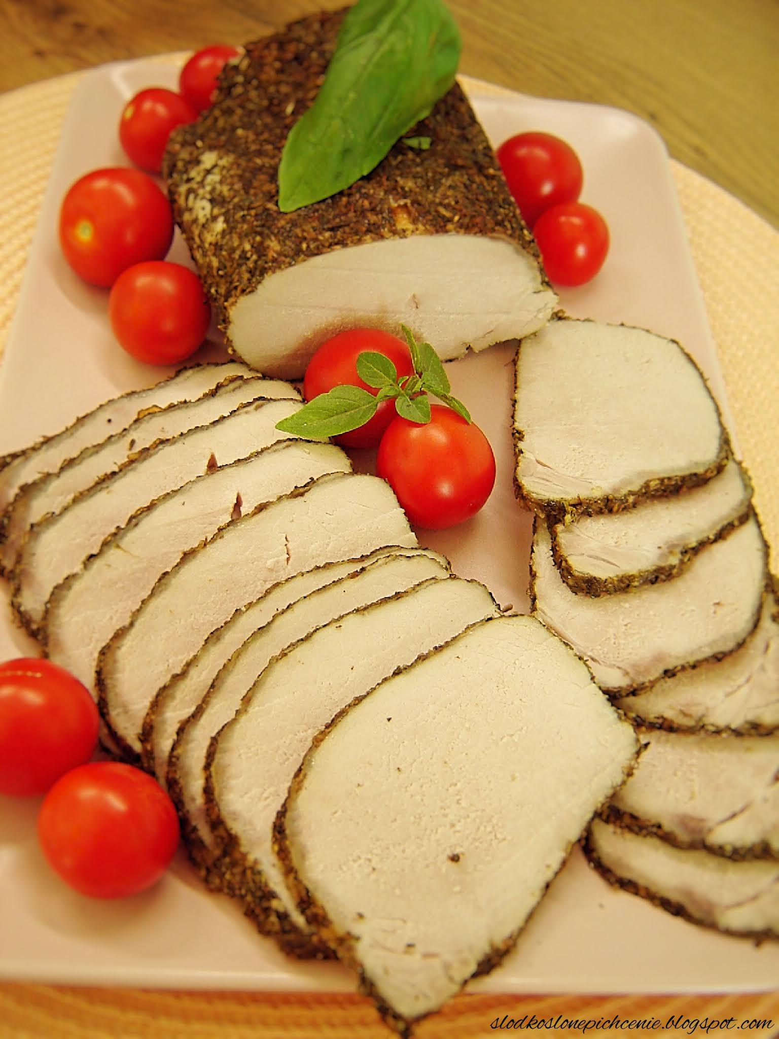 Schab pieczony na kanapki
