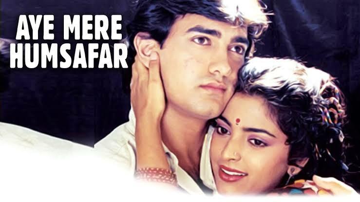 Aye mere Humsafar Hindi Love Song Lyrics, Sung By Udit Narayan And Alka Yagnik.