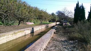 Canal de la Infanta en activo
