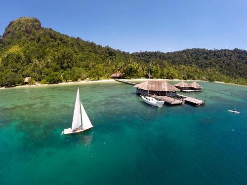 Pai Nan có những bãi biển cả vô cùng đẹp mắt