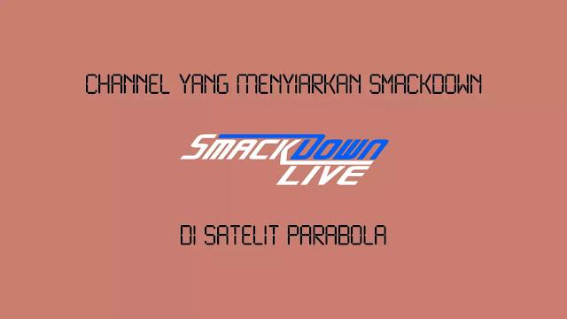 Channel yang Menyiarkan Smackdown di Parabola