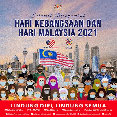 SELAMAT MENYAMBUT HARI KEMERDEKAAN 2021