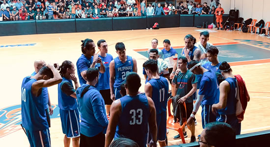 LIST: Gilas Pilipinas lineup vs Jordan (tuneup game - November 19, 2018)