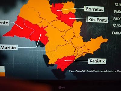 Governo de SP volta o Vale do Ribeira para fase vermelha da flexibilização da quarentena