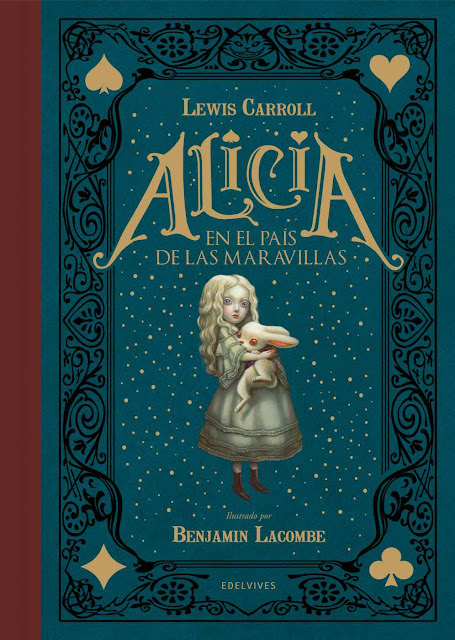 Benjamin Lacombe Portada del Libro Alicia en el país de las maravillas