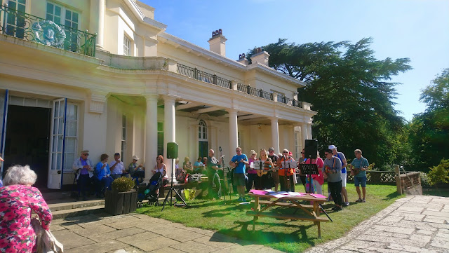 Uke Box Glory at Townhill Park House and Gardens