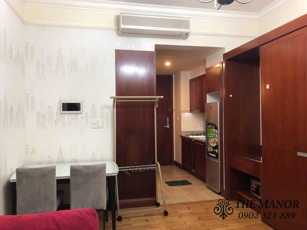 Cho thuê căn hộ diện tích nhỏ The Manor Q.Bình Thạnh giá rẻ 10tr/tháng - hinh 3