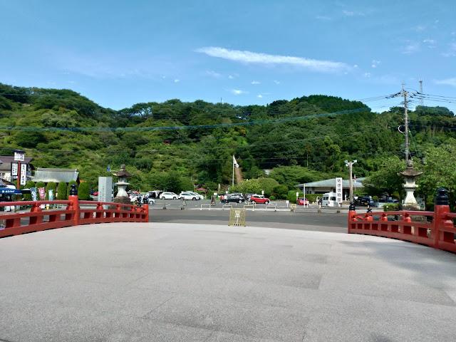 佐賀・祐徳稲荷神社 駐車場