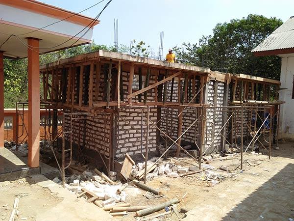 Pembangunan fisik Kamar Mandi / WC