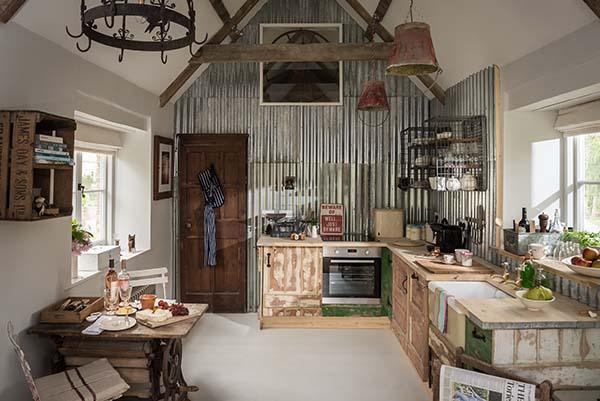 die wohngalerie charmant rustikale cottage ein ort zum abschalten. Black Bedroom Furniture Sets. Home Design Ideas