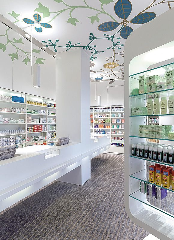 10 farmacias de dise o interiorismo que cura ministry for Decoracion de farmacias