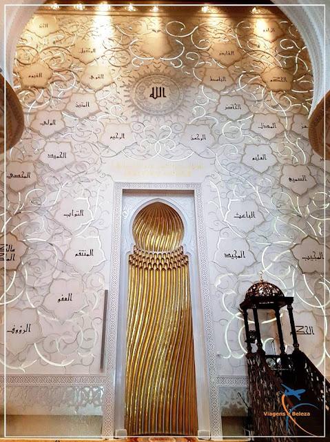 Grande Mesquita Sheikh Zayed, símbolo de Abu Dhabi!