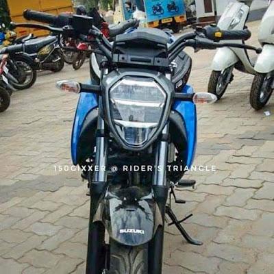 Suzuki Gixxer 150cc tahun 2019 India Depan