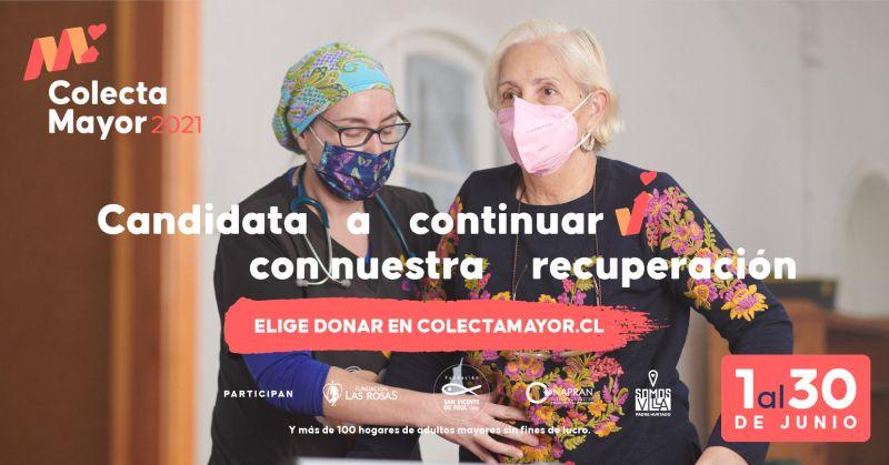 """Hogares necesitan voluntarios digitales para su """"Colecta Mayor 2021"""""""