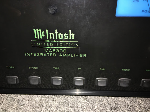 Amplifier McIntosh - MA 6300 - Made in USA