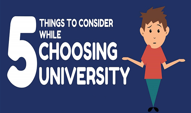 What to look for when choosing university