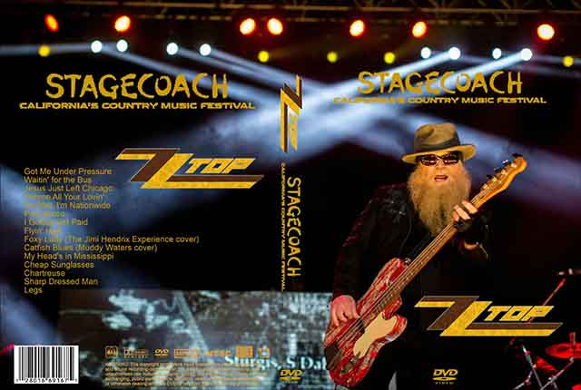 ZZ Top- Live at Stagecoach California's Country Music Festival