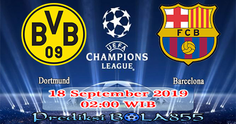 Prediksi Bola855 Dortmund vs Barcelona 18 September 2019