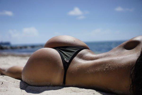 Красивые женские попки сзади