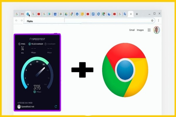 Golden tips I recommend you to speed up your browser Google Chrome and download files by 35% more than your normal speed!