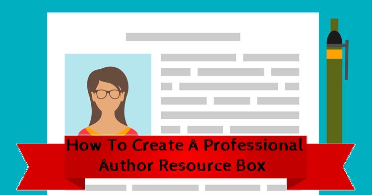 author resource box