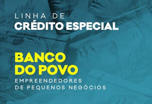 Banco do Povo disponibiliza linha de crédito especial