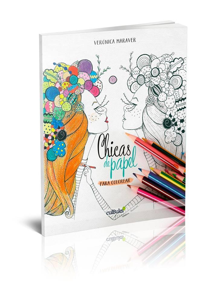 Soñado & Creado en España | Chicas de papel para colorear