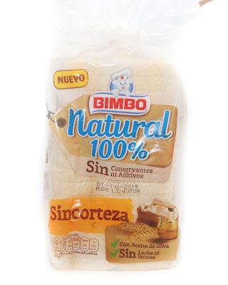 Bimbo natural 100% sin corteza