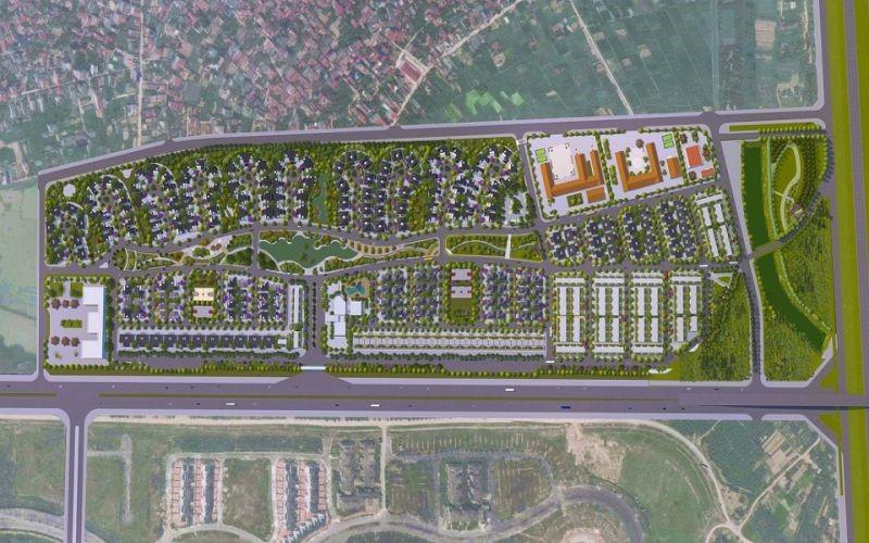 Phối cảnh dự án Hà Đô Charm Villas