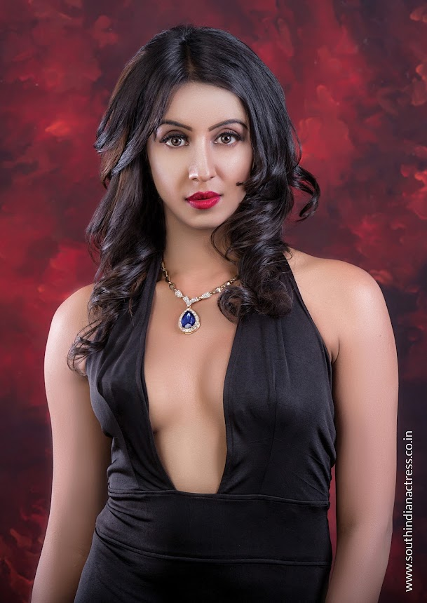 Sanjjanaa Galrani Shoots for Out of Focus Magazine