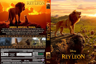 EL REY LEON - THE LION KING - 2019 [COVER - DVD+BLU-RAY]