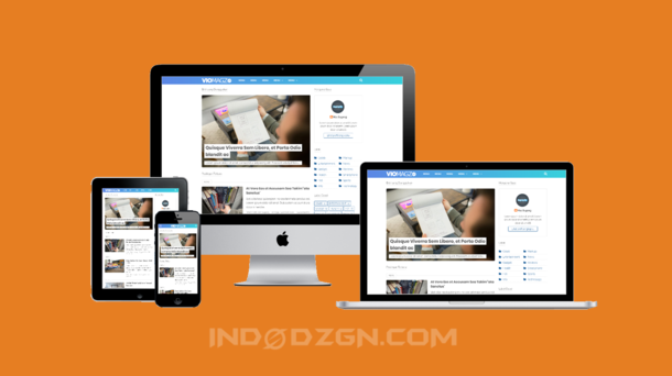 Viomagz V.3.2 Redesign Premium Blogger Template