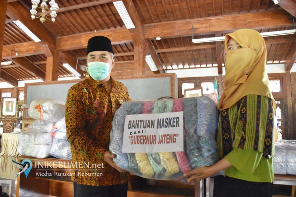 UMKM Kebumen Produksi 41.500 Masker untuk Dibagikan ke Warga di Jateng