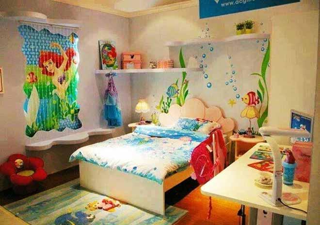 Dormitorios tema sirenas ideas para decorar dormitorios for Dormitorios tematicos
