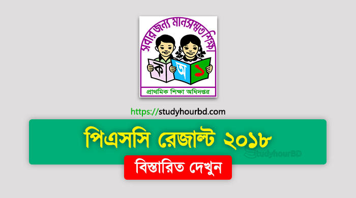 PSC Result 2018 Download All Boards Bangladesh