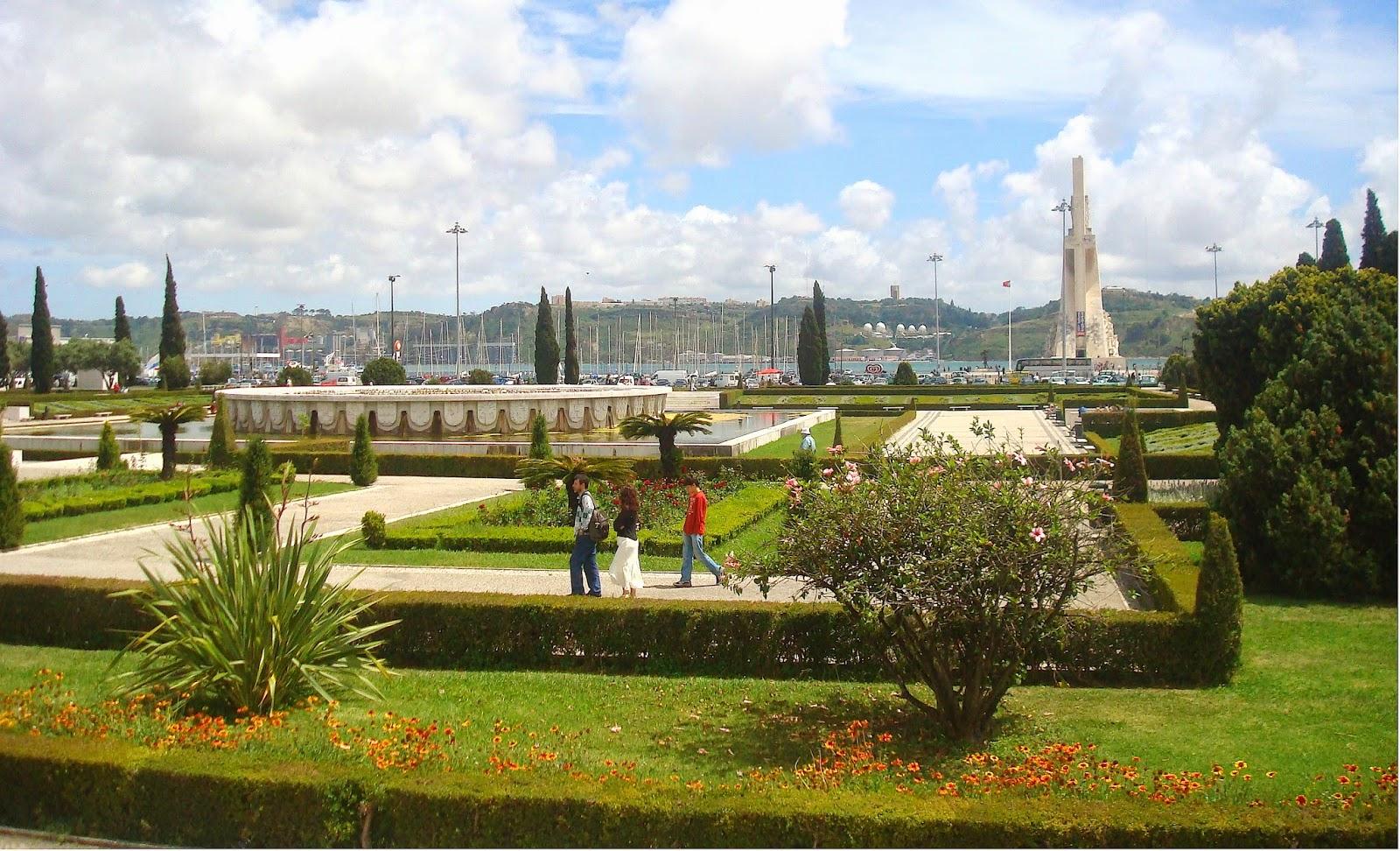Jardim da Praca do Imperio, Lisboa