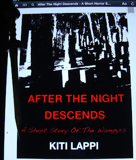 Portada del libro After the Night Descends, de Kiti Lappi