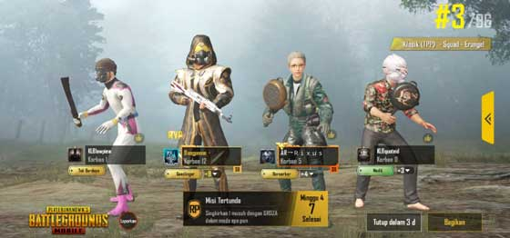Update PUBG Mobile Season 10