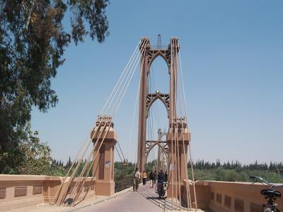 ديرالزور الجسر المعلق