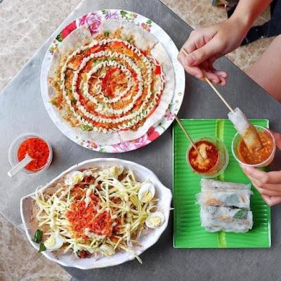top địa chỉ bán bánh tráng trộn ngon Sài Gòn navivu.com