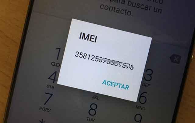 cómo consultar el número IMEI de un teléfono