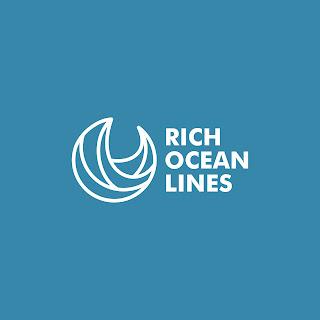 Rich Ocean Lines Logo Design