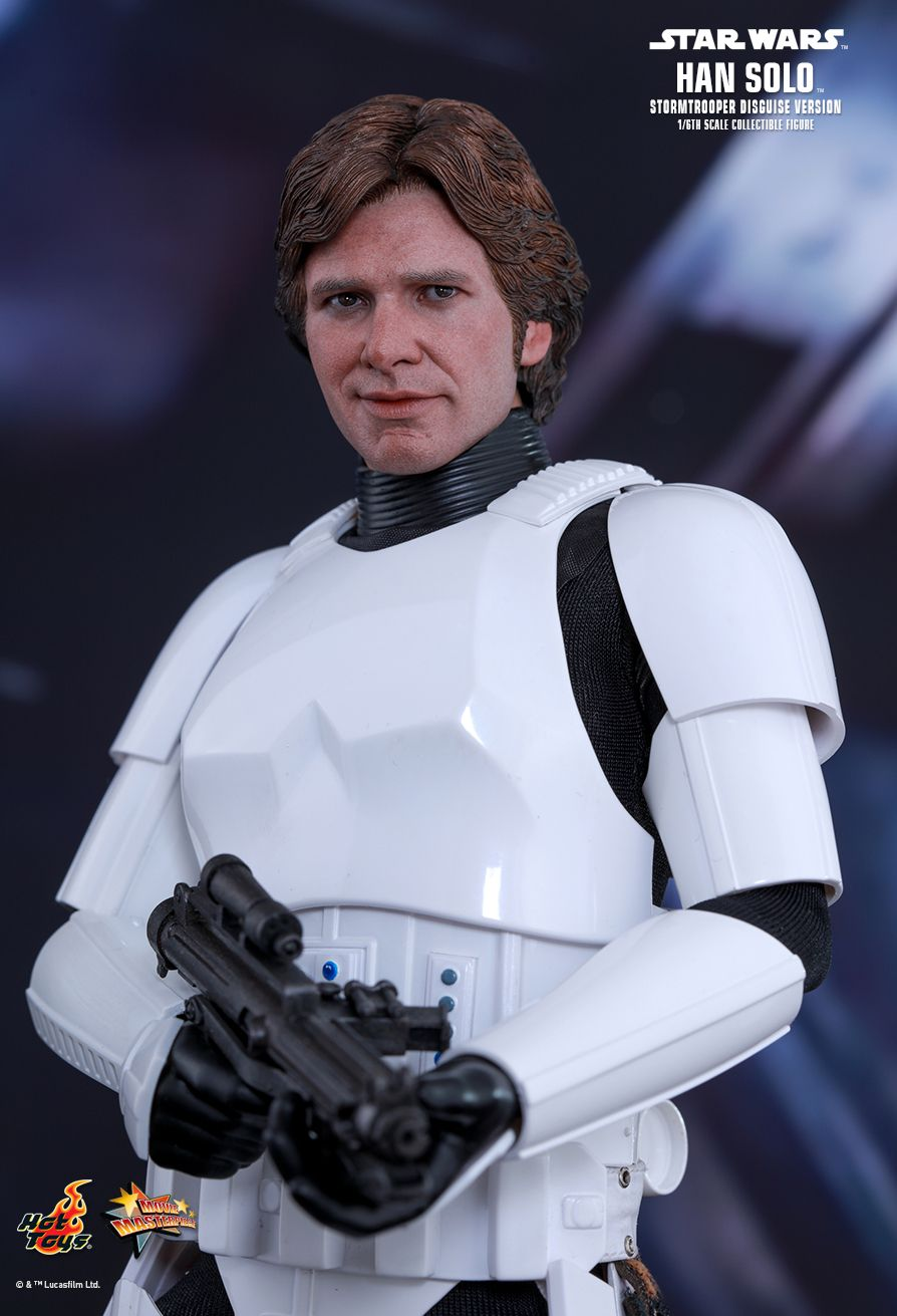 EP. IV - UN NOUVEL ESPOIR - HAN SOLO (STORMTROOPER Disguise Version) 7