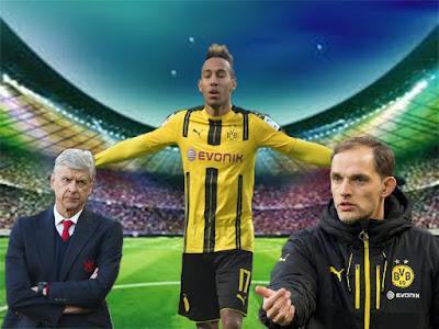 Wenger Mengkritik Dortmund yang Mengesampingkan Aubameyang Pada Saat Pertandingan Berlangsung