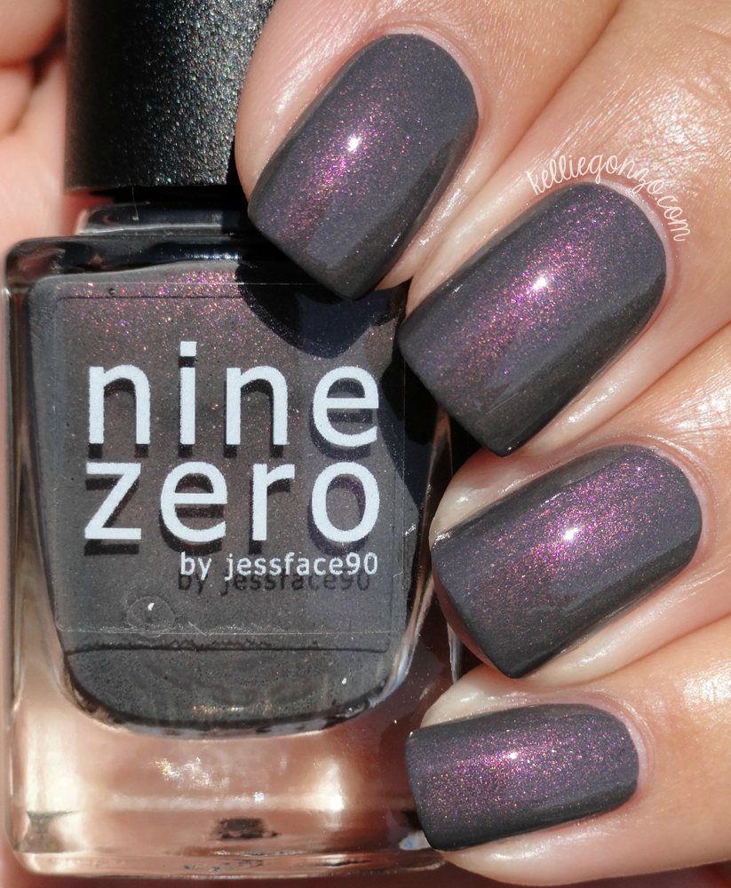 KellieGonzo: Nine Zero Lacquer The Men of Letters Collection + ...