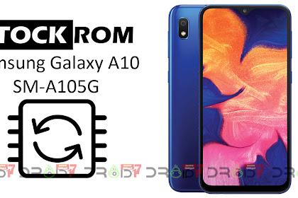 Firmware Samsung Galaxy A10 (SM-A105G) Bahasa Indonesia