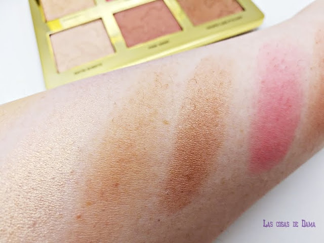 Too Faced Natural Face Palette paleta de rostro makeup sephora blush bronzer hightligt maquillaje novedades
