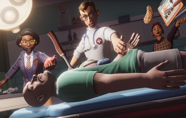 Surgeon Simulator 2 scene